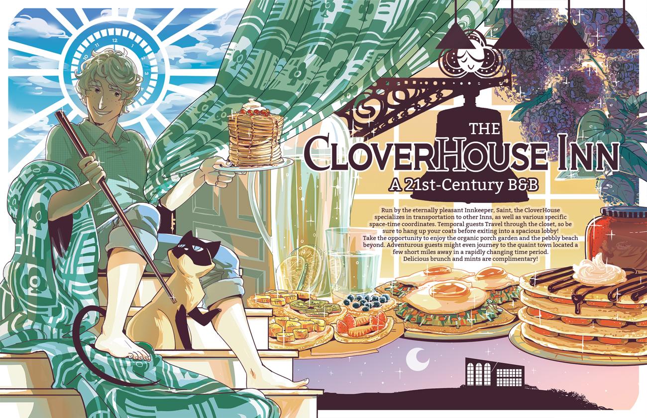 Saint for Rent - The CloverHouse Inn